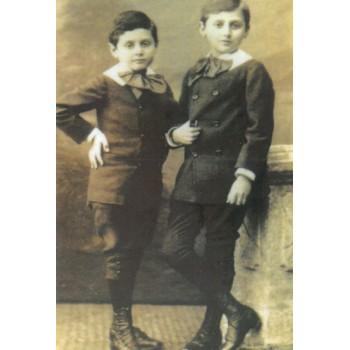 """""""Marcel et Robert"""" postcard"""