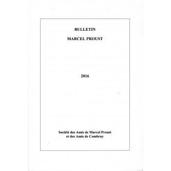 Bulletin Marcel Proust n°66...