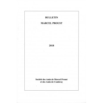 Bulletin Marcel Proust n°68...
