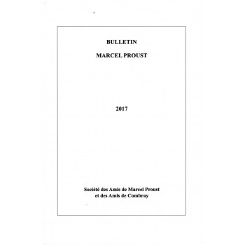 Bulletin Marcel Proust n°67...