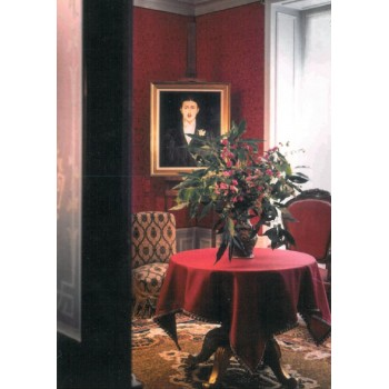 the red living room - postcard