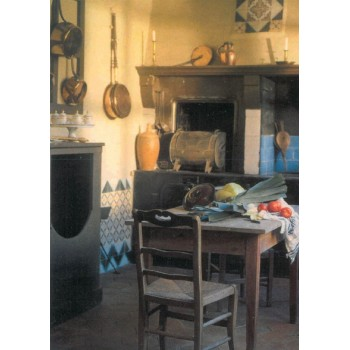 the kitchen - postcard